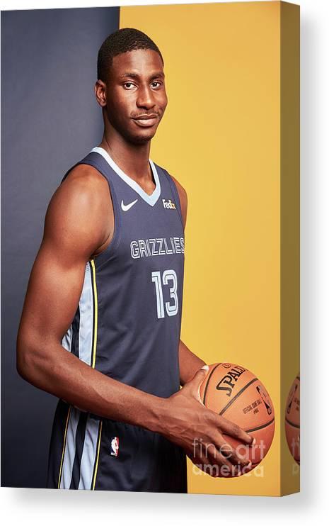 Nba Pro Basketball Canvas Print featuring the photograph Jaren Jackson by Jennifer Pottheiser