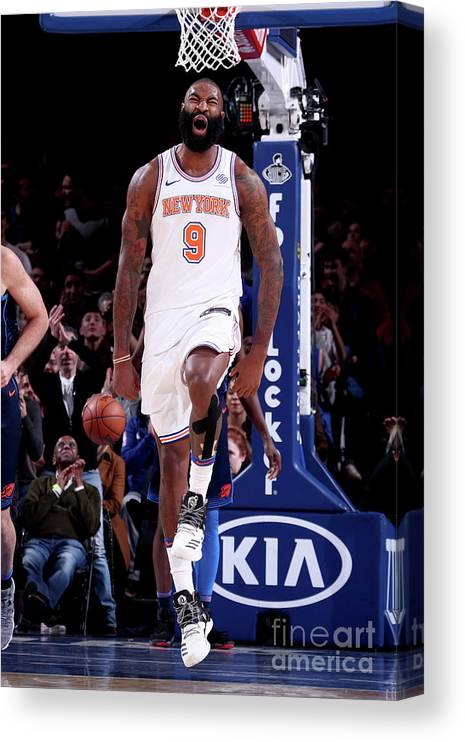 Nba Pro Basketball Canvas Print featuring the photograph Kyle O'quinn by Nathaniel S. Butler