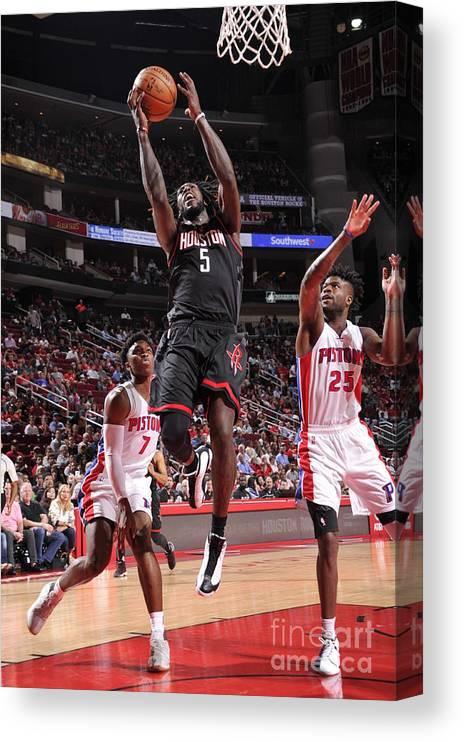 Nba Pro Basketball Canvas Print featuring the photograph Montrezl Harrell by Bill Baptist