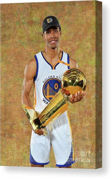 Playoffs Canvas Print featuring the photograph Patrick Mccaw by Jesse D. Garrabrant