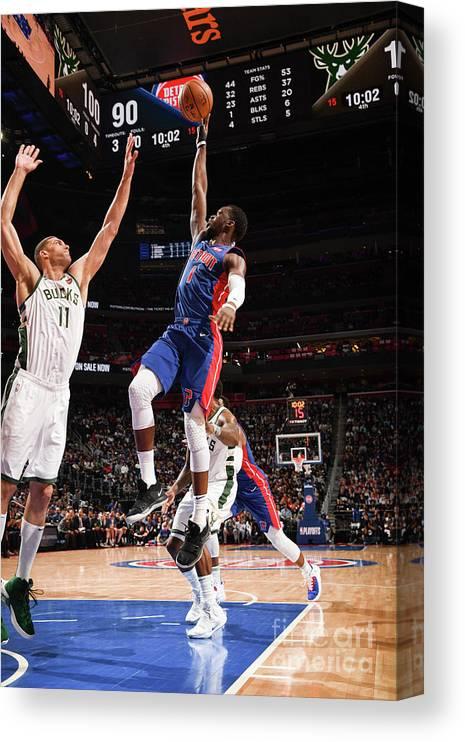 Playoffs Canvas Print featuring the photograph Reggie Jackson by Chris Schwegler