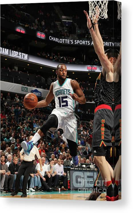 Kemba Walker Canvas Print featuring the photograph Kemba Walker by Kent Smith