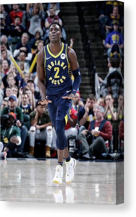 Nba Pro Basketball Canvas Print featuring the photograph Darren Collison by Ron Hoskins