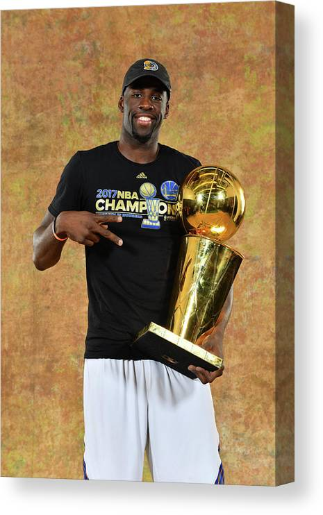 Playoffs Canvas Print featuring the photograph Draymond Green by Jesse D. Garrabrant