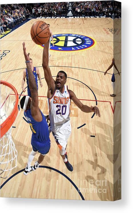 Nba Pro Basketball Canvas Print featuring the photograph Josh Jackson by Garrett Ellwood