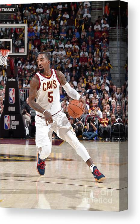 Nba Pro Basketball Canvas Print featuring the photograph J.r. Smith by David Liam Kyle