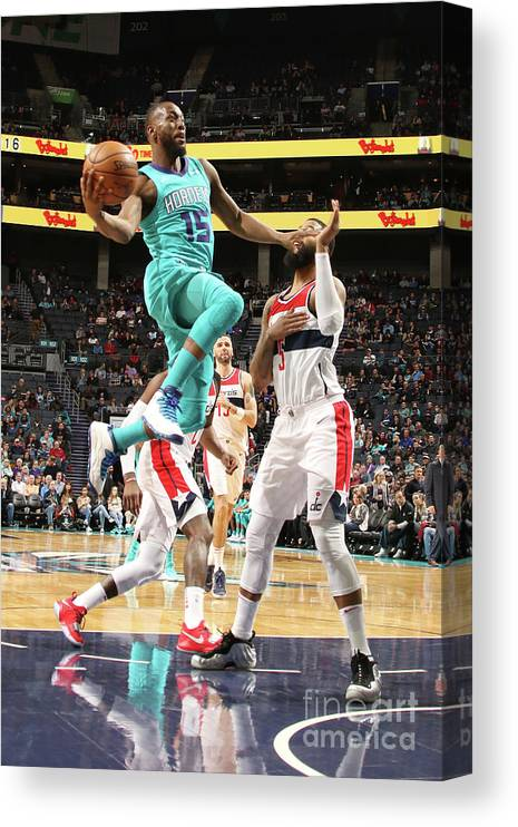 Kemba Walker Canvas Print featuring the photograph Kemba Walker by Brock Williams-smith