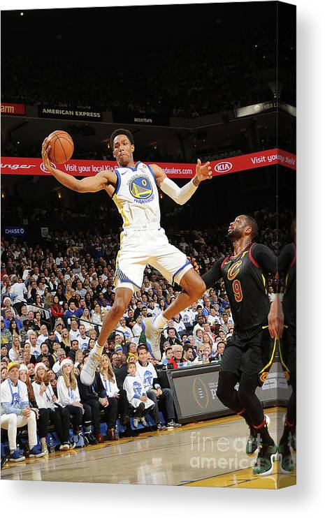 Nba Pro Basketball Canvas Print featuring the photograph Patrick Mccaw by Noah Graham