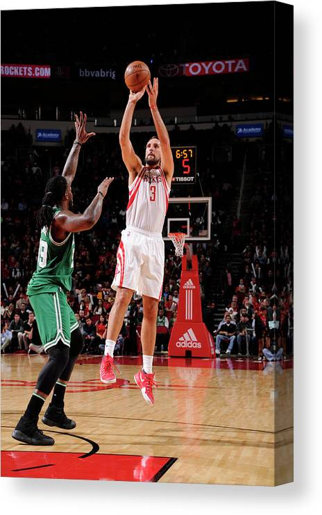 Nba Pro Basketball Canvas Print featuring the photograph Ryan Anderson by Bill Baptist