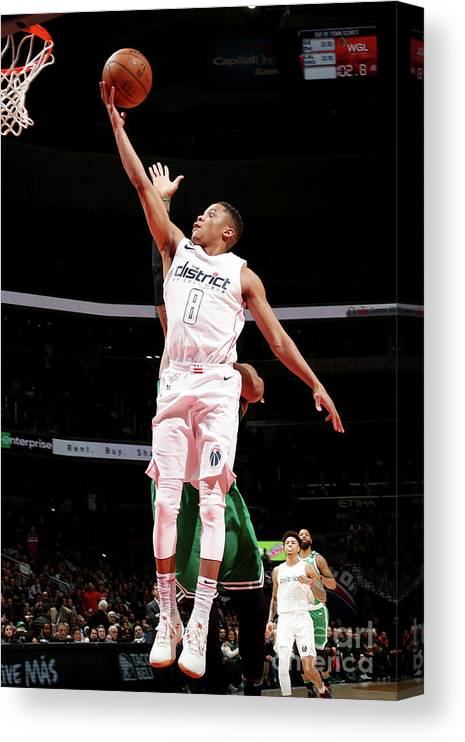 Nba Pro Basketball Canvas Print featuring the photograph Tim Frazier by Ned Dishman