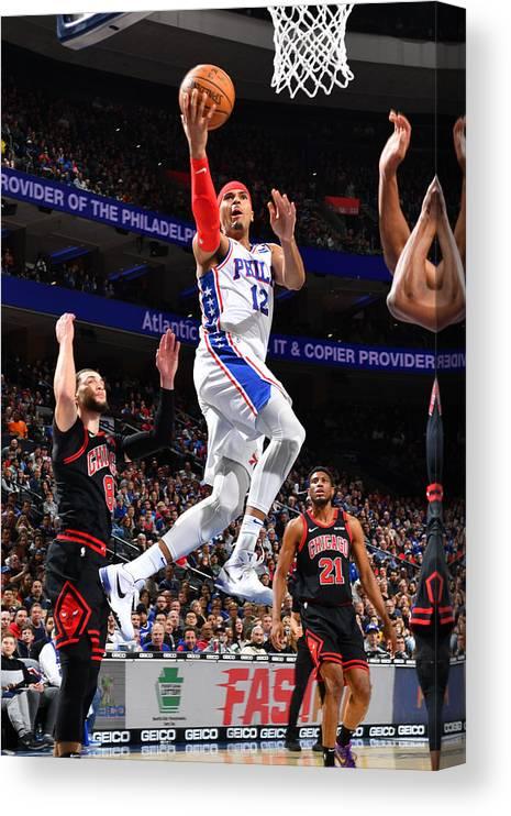 Nba Pro Basketball Canvas Print featuring the photograph Tobias Harris by Jesse D. Garrabrant