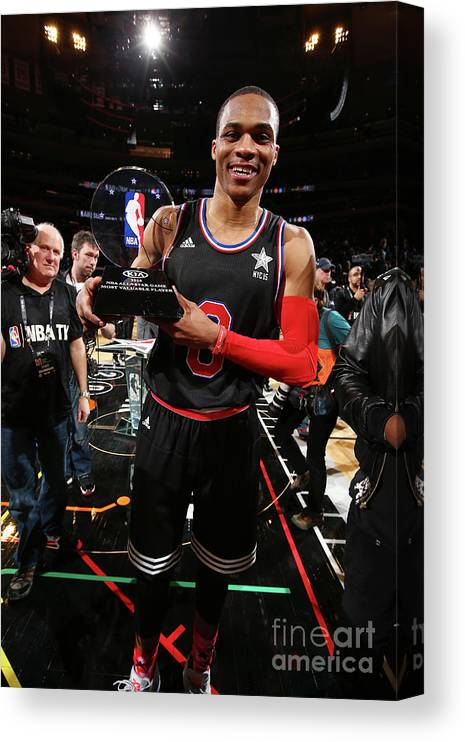 Event Canvas Print featuring the photograph Russell Westbrook by Nathaniel S. Butler