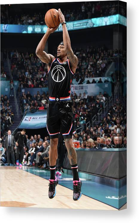 Nba Pro Basketball Canvas Print featuring the photograph Bradley Beal by Andrew D. Bernstein