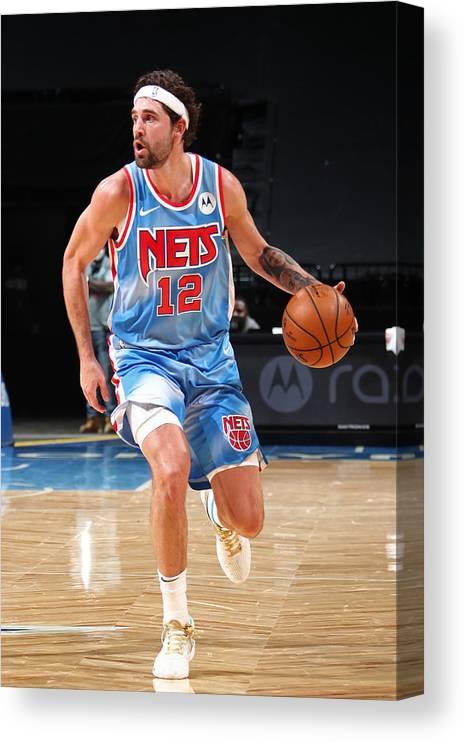 Nba Pro Basketball Canvas Print featuring the photograph Joe Harris by Nathaniel S. Butler