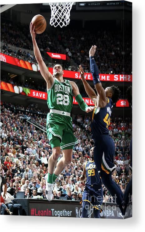 Nba Pro Basketball Canvas Print featuring the photograph Abdel Nader by Melissa Majchrzak