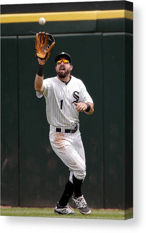 People Canvas Print featuring the photograph Adam Eaton by Jon Durr