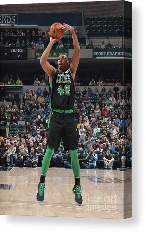 Nba Pro Basketball Canvas Print featuring the photograph Al Horford by Ron Hoskins