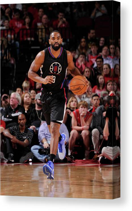 Nba Pro Basketball Canvas Print featuring the photograph Alan Anderson by Bill Baptist