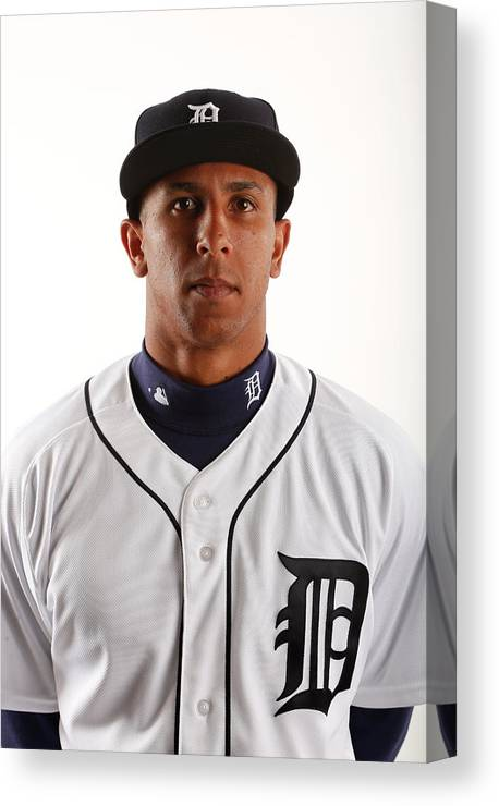 Media Day Canvas Print featuring the photograph Anthony Gose by Brian Blanco
