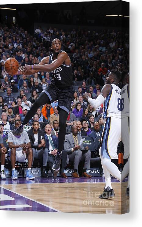 Nba Pro Basketball Canvas Print featuring the photograph Anthony Tolliver by Rocky Widner