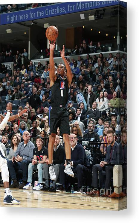 Nba Pro Basketball Canvas Print featuring the photograph Avery Bradley by Joe Murphy