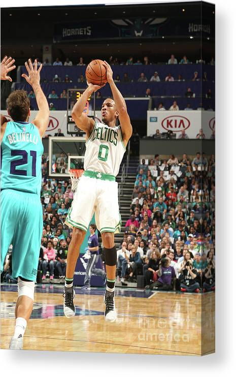 Nba Pro Basketball Canvas Print featuring the photograph Avery Bradley by Kent Smith