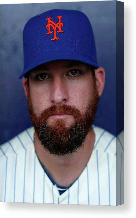 Media Day Canvas Print featuring the photograph Bobby Parnell by Chris Trotman