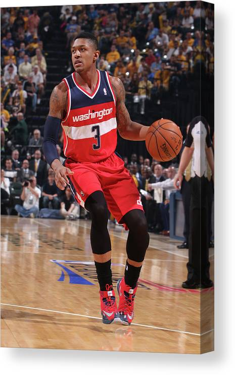 Sport Canvas Print featuring the photograph Bradley Beal by Gary Dineen