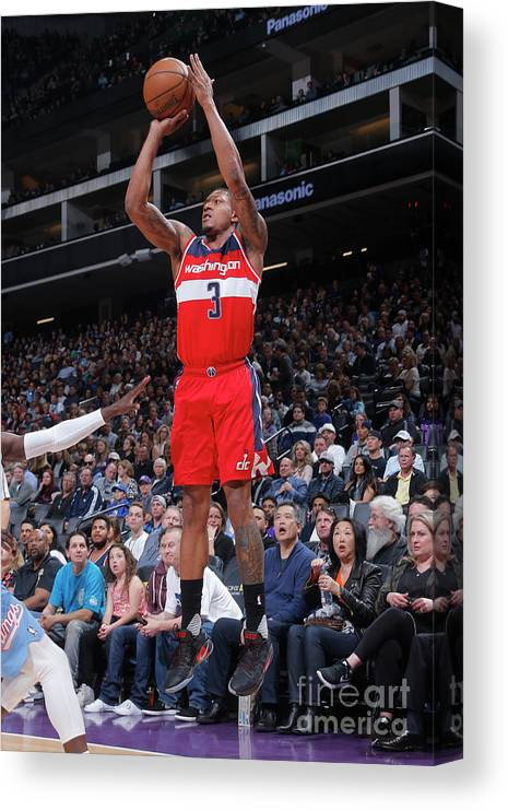 Nba Pro Basketball Canvas Print featuring the photograph Bradley Beal by Rocky Widner