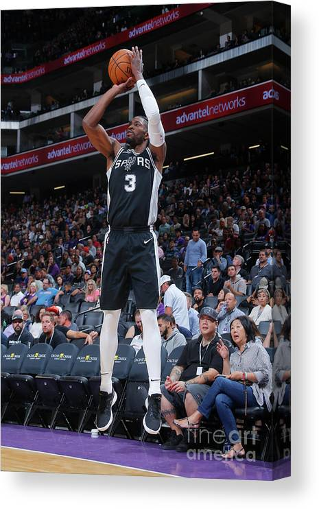 Nba Pro Basketball Canvas Print featuring the photograph Brandon Paul by Rocky Widner
