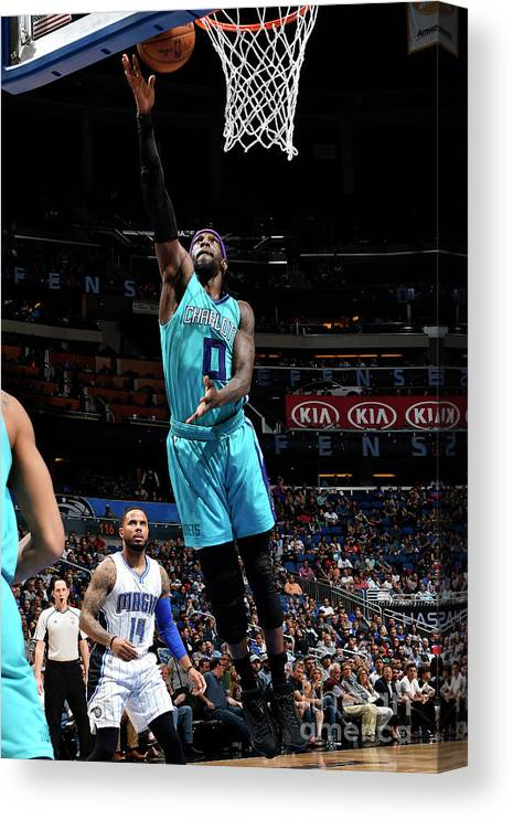 Nba Pro Basketball Canvas Print featuring the photograph Briante Weber by Fernando Medina