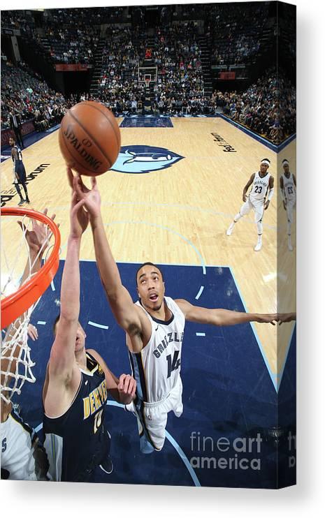 Nba Pro Basketball Canvas Print featuring the photograph Brice Johnson by Joe Murphy