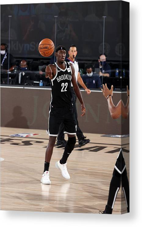 Nba Pro Basketball Canvas Print featuring the photograph Caris Levert by David Sherman