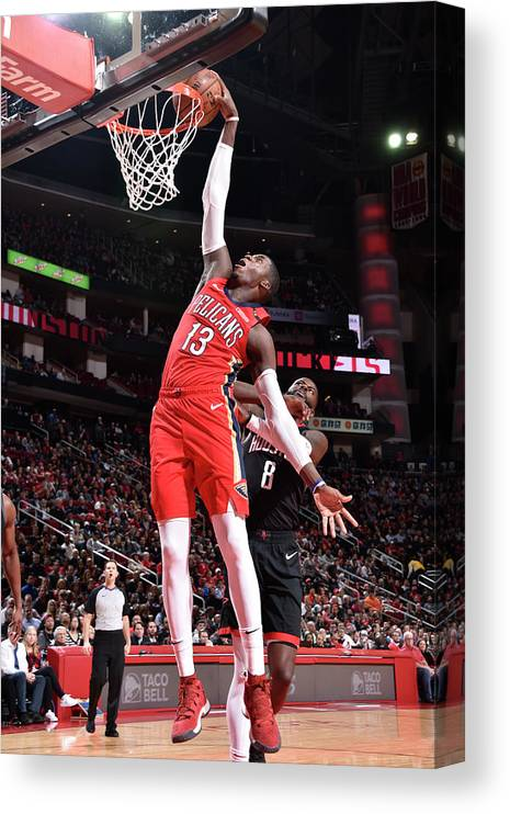 Nba Pro Basketball Canvas Print featuring the photograph Cheick Diallo by Bill Baptist