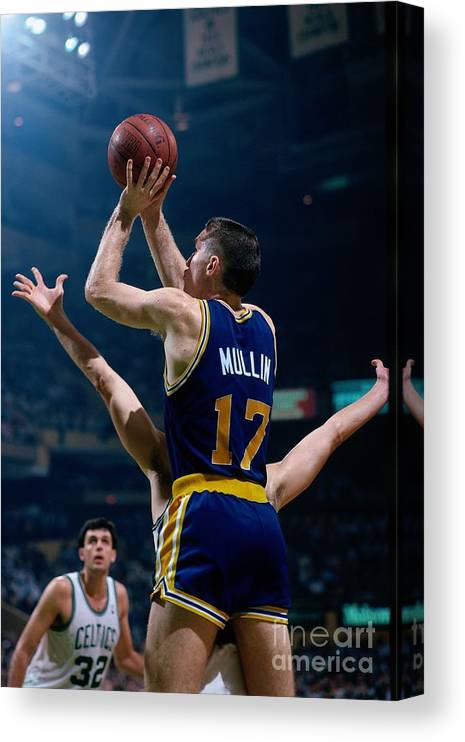 1980-1989 Canvas Print featuring the photograph Chris Mullin by Dick Raphael