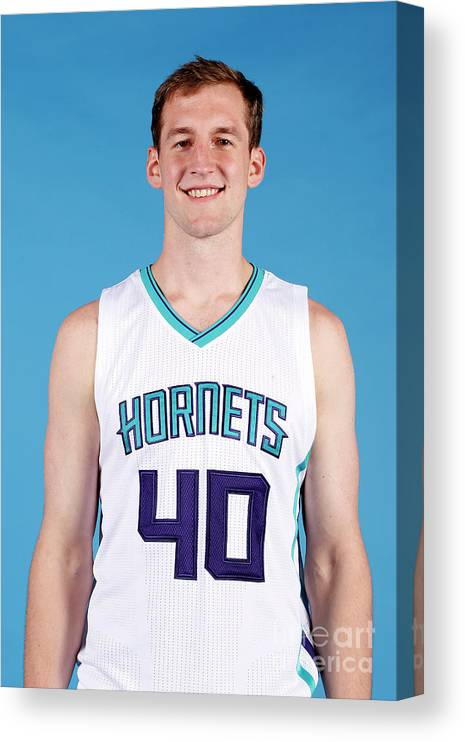 Media Day Canvas Print featuring the photograph Cody Zeller by Brock Williams-smith