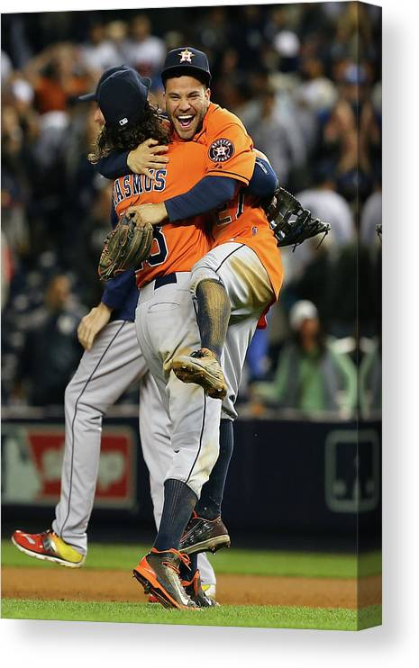 Playoffs Canvas Print featuring the photograph Colby Rasmus by Elsa