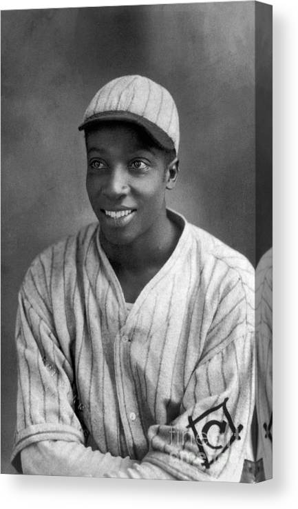 Cool Papa Bell Canvas Print featuring the photograph Cool Papa Bell by National Baseball Hall Of Fame Library