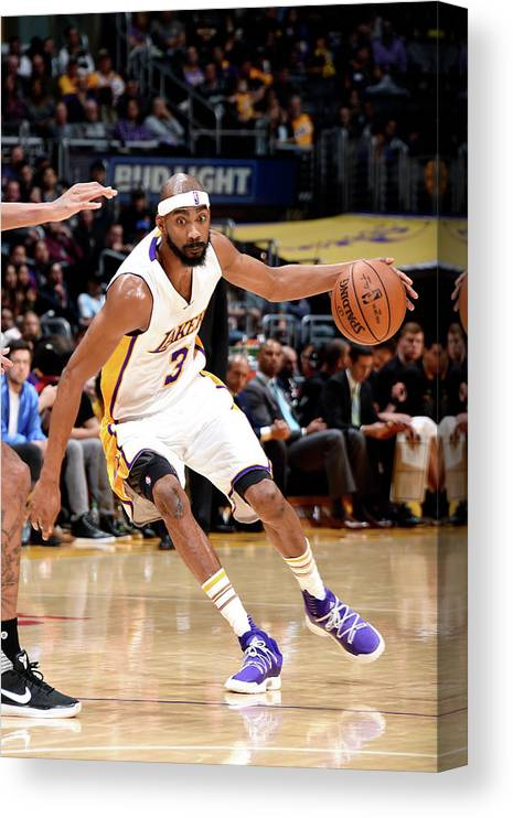 Nba Pro Basketball Canvas Print featuring the photograph Corey Brewer by Andrew D. Bernstein