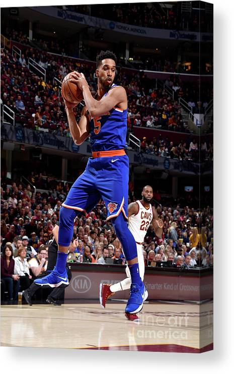 Nba Pro Basketball Canvas Print featuring the photograph Courtney Lee by David Liam Kyle