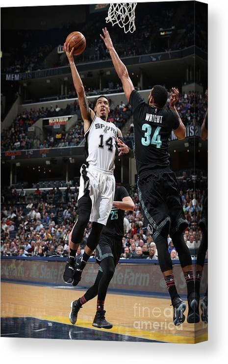 Nba Pro Basketball Canvas Print featuring the photograph Danny Green by Joe Murphy