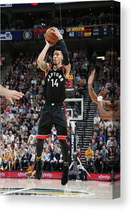 Nba Pro Basketball Canvas Print featuring the photograph Danny Green by Melissa Majchrzak