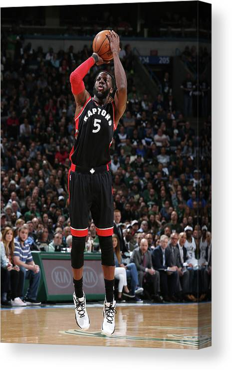 Playoffs Canvas Print featuring the photograph Demarre Carroll by Gary Dineen