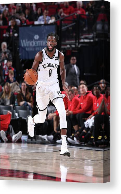 Nba Pro Basketball Canvas Print featuring the photograph Demarre Carroll by Sam Forencich