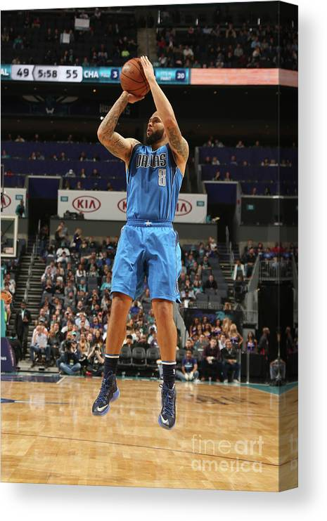 Nba Pro Basketball Canvas Print featuring the photograph Deron Williams by Kent Smith