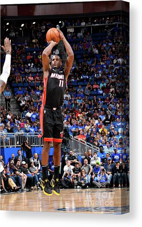 Nba Pro Basketball Canvas Print featuring the photograph Dion Waiters by Fernando Medina