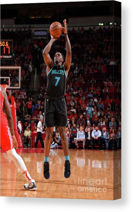 Nba Pro Basketball Canvas Print featuring the photograph Dwayne Bacon by Bill Baptist