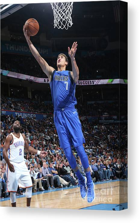 Dwight Powell Canvas Print featuring the photograph Dwight Powell by Layne Murdoch