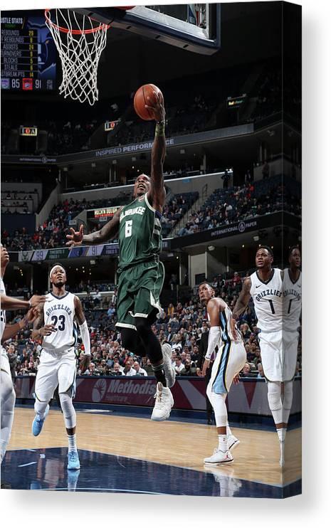 Nba Pro Basketball Canvas Print featuring the photograph Eric Bledsoe by Joe Murphy