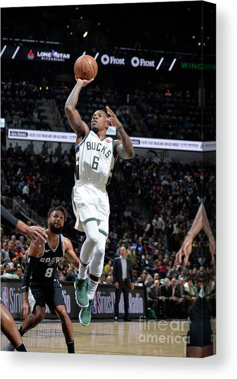 Nba Pro Basketball Canvas Print featuring the photograph Eric Bledsoe by Mark Sobhani
